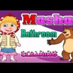 Masha Bathroom Cleaning