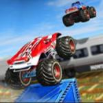 Monster Truck Impossible Track Monster Truck Stunts